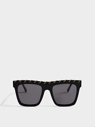 Stella McCartney Bio-injected Sonnenbrille aus grauem Bio-Acetat KdSHeLgU