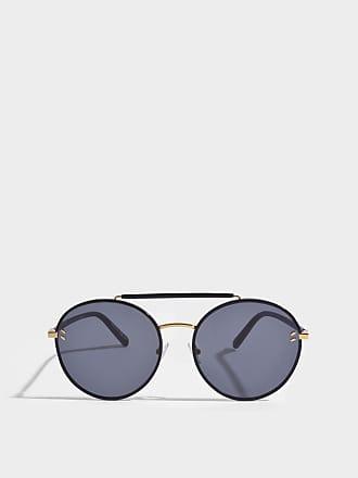 Stella McCartney Bio-injected Sonnenbrille aus schwarzem Bio-Acetat 5d8bIZH