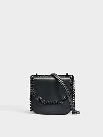 Nylon und Glitzer Stars Falabella Go Backpack aus schwarzem Eco Material Stella McCartney ozgcnByW