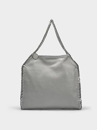 Stella McCartney Mini Tote Bag Metallic Shaggy Deer Falabella en Eco-Cuir Citron VA0Buo