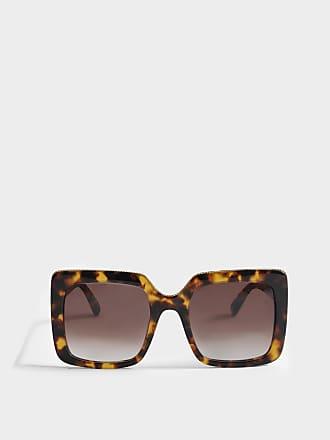 Stella McCartney Sonnenbrille aus Havana Bio-Acetat und Metall 0MfhrEm