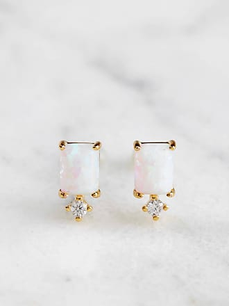 Tai Jewelry Teardrop Stud Lite Pink NYOae