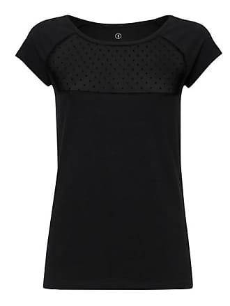 Lace Cap Sleeve T-Shirt Damen Schwarz Bio & Fair ThokkThokk