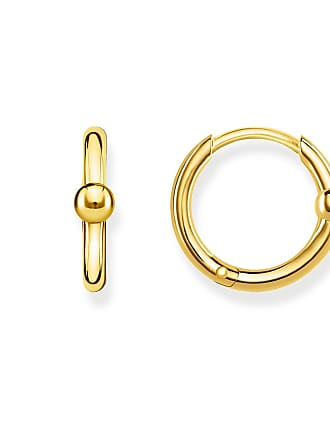 Thomas Sabo hoop earrings yellow gold-coloured CR618-413-39 Thomas Sabo bVtYzYqn7