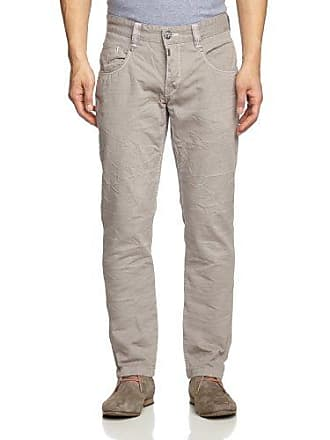 Timezone Pantalón regular fit para mujer, color Gris (Charcoal Grey 9079), talla 32 (talla fabricante: 25)
