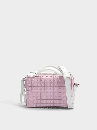 Don Bauletto Micro Gommino Bag in Lilac Crosta Coco Suede Tod's DjgIy8UPz