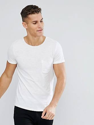Outlet Find Great Discount Authentic Crew Neck T-Shirt with Raw Edge In Navy - 6576 navy Tom Tailor FypNUwrU