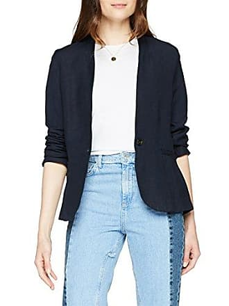 Damen Anzugjacke Lovely Linen Blazer Tom Tailor