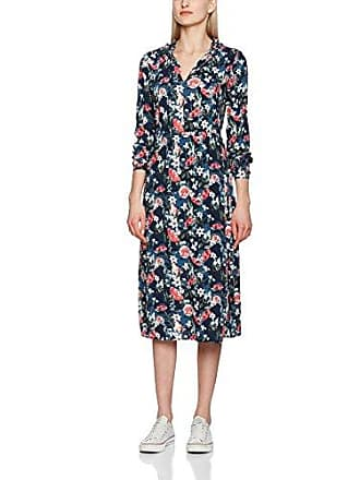 Damen Kleid Lovely Midi Dress Tom Tailor