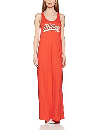 Damen Strandkleid Kiara Maxi Logo Dress Tommy Hilfiger