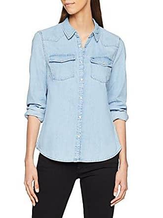 Damen Bluse Tjw Western Denim Shirt Tommy Jeans