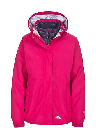 3-in-1 Daunenjacke Trailwind rosa Trespass