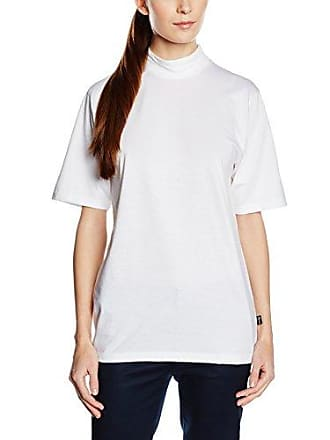 Trigema Damen Shirt aus Viskose 3/4-Ärmel-camiseta Mujer, Blanco (Weiß 001), Medium