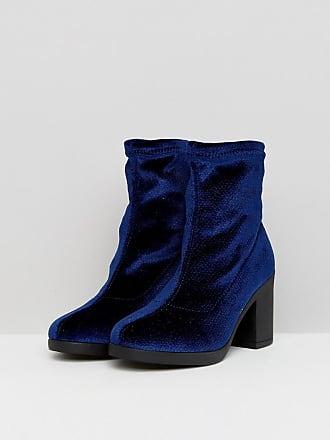 Billig Rabatt Verkauf Sast Halbhoher Stiefel mit Blockabsatz - Navy Truffle Freies Modernes Verschiffen Vermarktbare Online Verkauf Footaction nIZlt