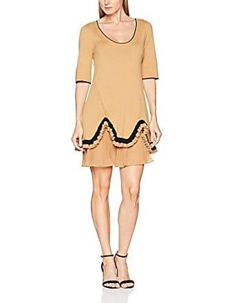 PA7311, Vestido para Mujer, Multicolor (Grigio Melange Chiaro/Nero), Small Twin-Set