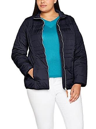 Große Größen Damen Jacke Steppjacke mit Stehkragen Blau (Blau 65) Ulla Popken