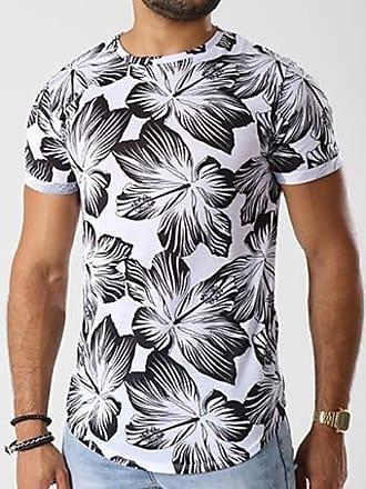 Tee Shirt Oversize 16345-M230 Blanc FloralUniplay qvpQ4U