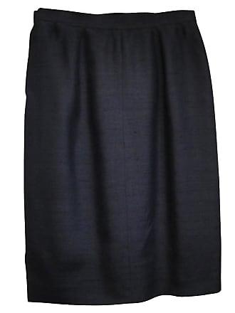 gebraucht - Seidenrock - DE 40 - Damen - Blau - Seide Valentino