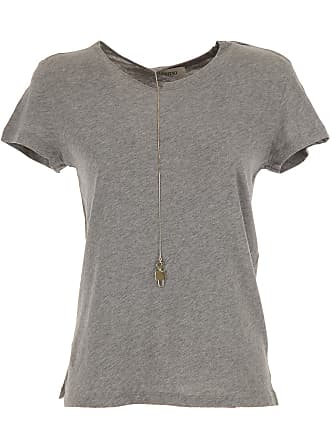 T-Shirt for Women On Sale, Light Grey, Cotton, 2017, 10 12 8 Valentino