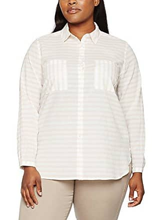 Damen Bluse Hemdkragen 1/1 Arm Streifen Via Appia Due