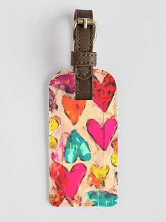 Leather Accent Tag - Hearts by VIDA VIDA sWPi9IFKV