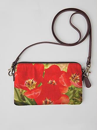 VIDA Leather Statement Clutch - Tulip Garden by VIDA B6VgY