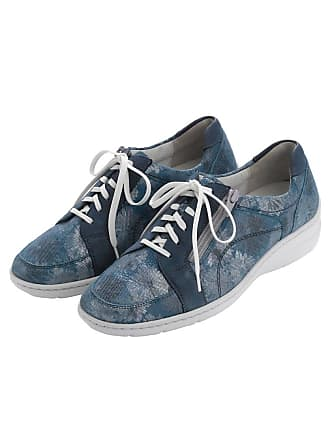 Chaussure De Dentelle Florale Bleu Waldläufer r75ozp
