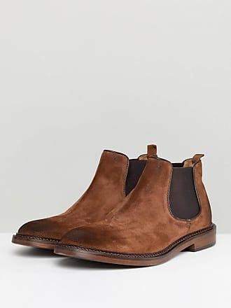 Burton Menswear London TAREN CHELSEA BOOT - Classic ankle boots - tan lUAFX75