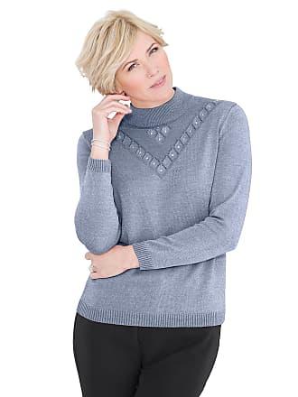 Damen Pullover blau Gr. 38 WITT weiden
