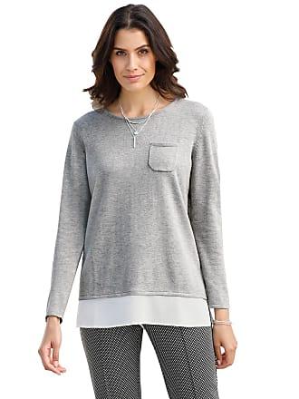 Damen Pullover grau Gr. 36 WITT weiden
