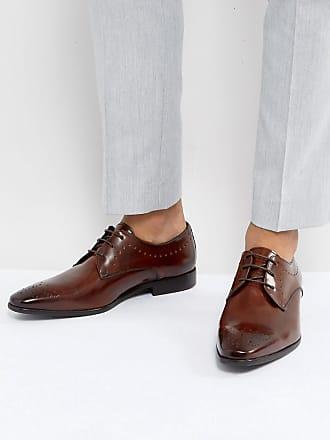 Hudson Talbot - Zapatos De Cordones para Hombre, Marrone (Marron (Calf Tan)), Talla 43