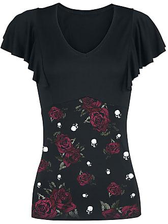 Dies Irae Girl-Shirt schwarz/grün Alchemy England LFs4i