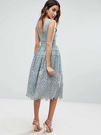 Mustermix Midikleid Dames Bruin Y.A.S Ausgang Wählen Eine Beste Verkauf In Mode vvIIr