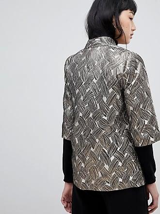 Taillierte Jacke aus Jacquard ACOTÉ oXxuejra