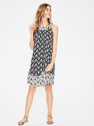 Jade Kleid Navy Damen Boden Boden bar5skYXr