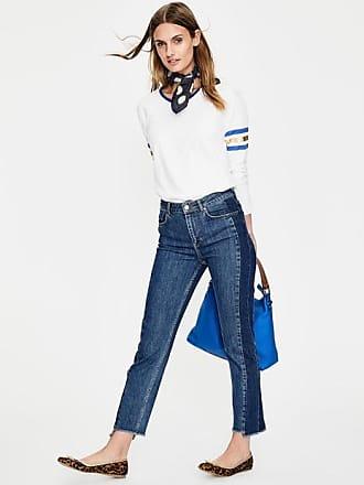 Jeans mit seitlichem Schlitz Denim Damen Boden Boden rEhFLyQY2Q