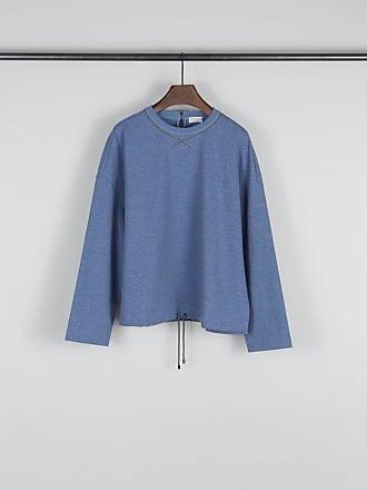 Baumwoll-Sweatshirt Blau/Bronze Brunello Cucinelli IZF22h8N