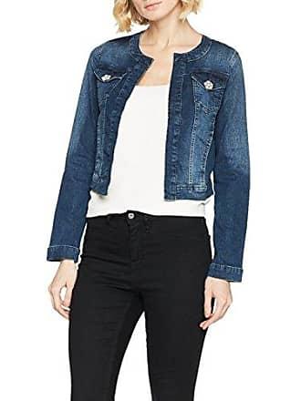 Jeansjacke%2c Blau%2c L: 47cm%2c langarm%2c für Frauen%2c verschlusslos Cartoon QpPbdw7