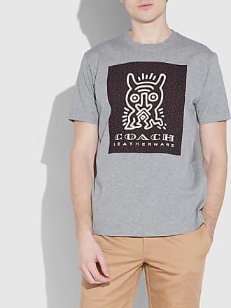 Preise Online-Verkauf Disney X Charakteristisches T-Shirt mit Aufnähern Coach Billig Verkauf Exklusiv Steckdose Vermarktbaren wp4fnq77