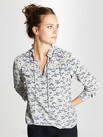 Damen-Bluse mit Schösschen%2c bedruckt sandrosa bedruckt Cyrillus OvKt1Vk