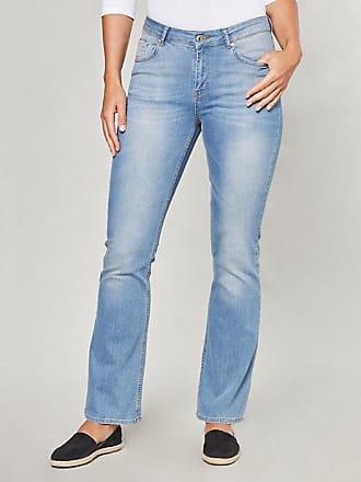 Damen Stretch-Jeans Ember blau - auch in Übergrößen Deerberg OIgMP