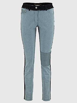 Damen Stretch-Jeans-Longjacke Inola Blau - auch in Übergrößen Deerberg AiDkZ