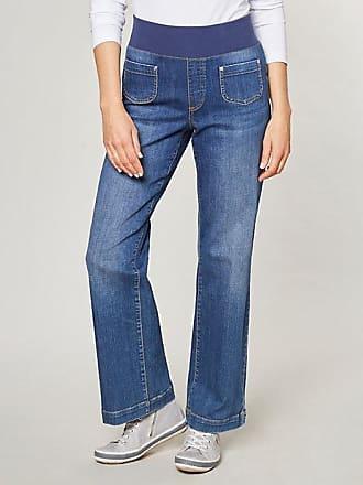 Damen Stretch-Jeans Ember Weiß - auch in Übergrößen Deerberg APypGJ9