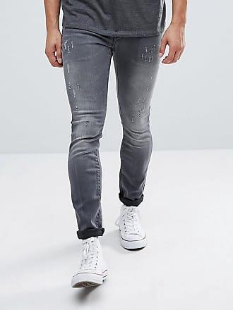 Schmale Jeans mit mittelhoher Taille - Grau Wrangler Bs4Euxsm8