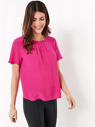 1/2 Arm Shirt mit Chiffonbesatz Lila-Pink Damen Gerry Weber