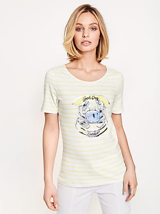 1/2 Arm Shirt mit grafischem Muster Ecru-Beige Damen Gerry Weber