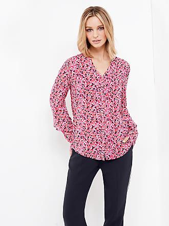 Bluse mit Kimono-Ärmel Lila-Pink Damen Gerry Weber Fra2SS