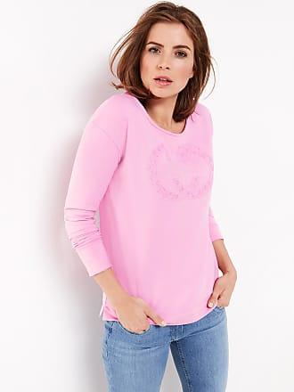 Top mit Raffdetail Lila-Pink Damen Gerry Weber Jsz37V