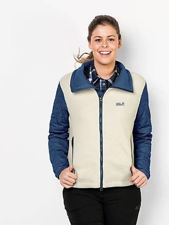Funktions-Kapuzensweatjacke »TERRA NOVA BAY WOMEN«, mit weichem Sherpa-Fleece, blau, marine-meliert Jack Wolfskin