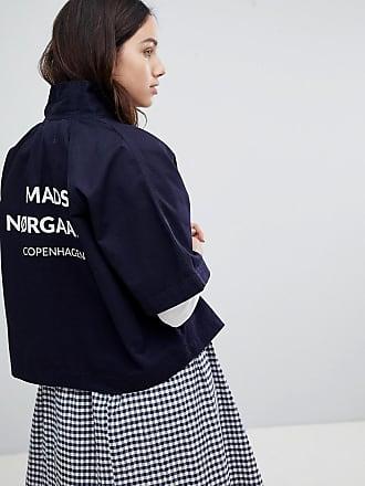 Jeans-Hemdjacke in Oversize-Passform - Cremeweiß Mads Norgaard 1o2kA7jEHC